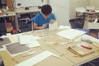 教室模型を作る
